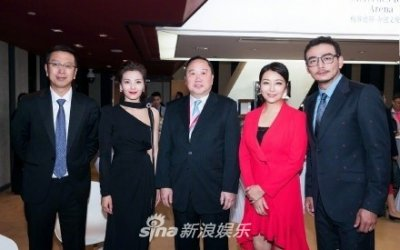 刘涛王凯杨烁江珊同框合影 俊男美女养眼吸睛