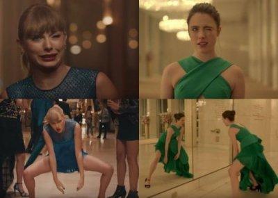 """被曝抄袭?Taylor Swift新歌MV""""撞脸""""香水广告"""