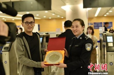 上海创新实施中国公民与外国人出境通关分区人
